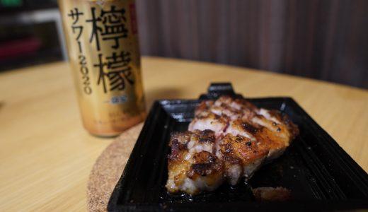 ホットサンドメーカーで焼く!イベリコ豚のステーキ